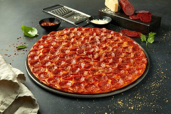 The Italian Job Pizza - VA Logo
