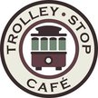 Trolleystop Cafe - Dallas Logo