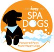 Happy Spa Dogs Mobile Grooming Logo