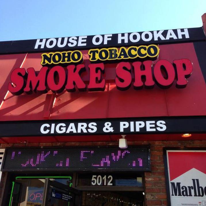 Noho Smoke Shop - Vineland Ave Logo