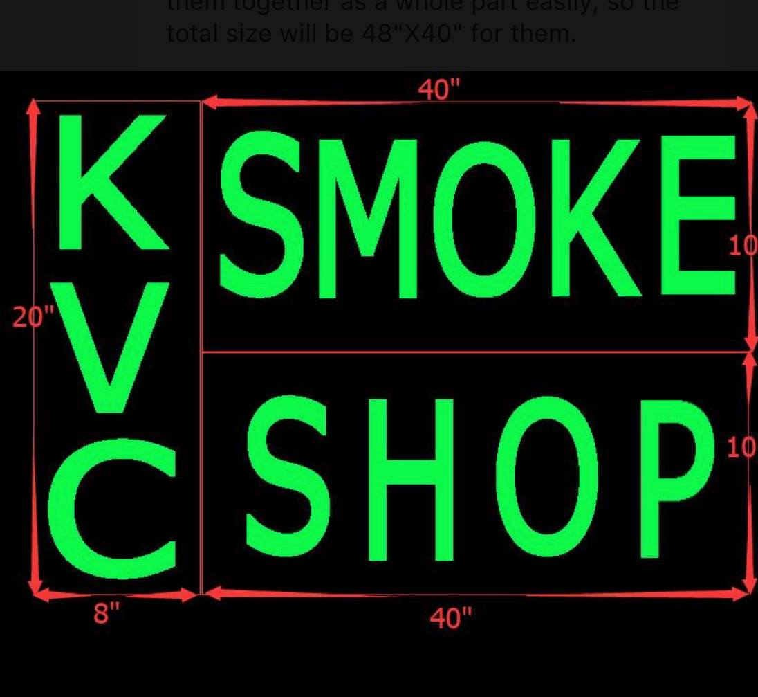 KVC Smoke Shop Logo