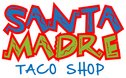 Santa Madre Taco Shop Logo
