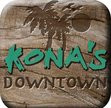 Kona's Sandwiches Downtown - Chico Logo