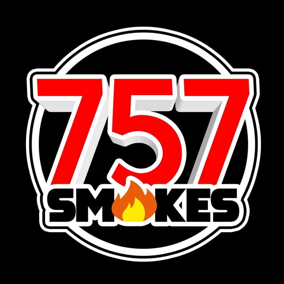 757 Smokes - Portsmouth Logo