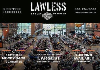 lawless harley-davidson | renton, wa | bike shop and services